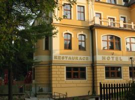 Hotel Hron – hotel w mieście Náchod