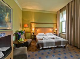 BEST BALTIC Hotel Druskininkai Central – hotel w pobliżu miejsca Centrum rekreacyjne AQUA w Druskienikach w Druskienikach