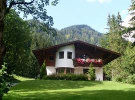 Ferienwohnung Achten, Hotel in der Nähe von: Kammerköhr, Waidring