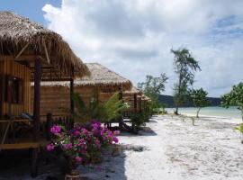 Leng Meng Beach Bungalow, hotel in Koh Rong Sanloem
