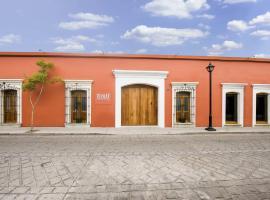 XTILU Hotel - Adults only -, отель в городе Оахака-де-Хуарес