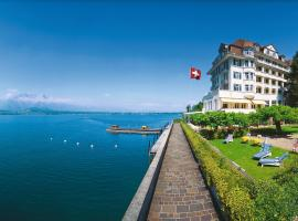 Hotel Restaurant Bellevue au Lac, отель в Туне