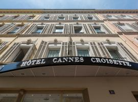 Hotel Cannes Croisette, beach hotel in Cannes