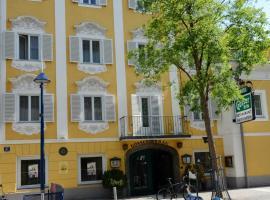 Hotel Gösser Bräu, отель в Вельсе