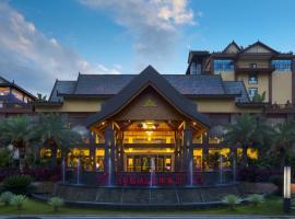 西雙版納嘉盛華美達廣場酒店,允景洪的飯店