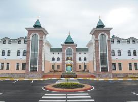 Сьют Отель Отдых, отель в городе Лебяжий