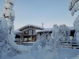 Villas Karhunpesä, loma-asunto Saariselällä