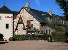 Auberge De L'Atre、Quarré-les-Tombesのホテル
