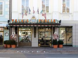Hotel Palais Porcia, отель в городе Клагенфурт-ам-Вёртерзе