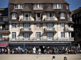 Le Flaubert, hotel near Trouville Beach, Trouville-sur-Mer