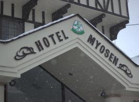 Hotel Myosen, hotel in Myoko