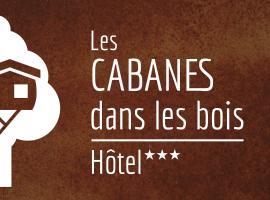 Les Cabanes Dans Les Bois, hotel near Carcassonne Golf Course, Villedubert
