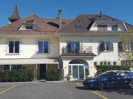 Auberge de Founex, hotel near Divonne-les-bains thermal center, Founex