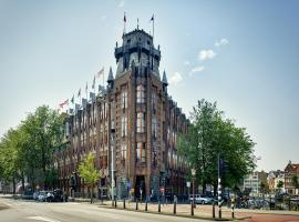 Grand Hotel Amrâth Amsterdam, hôtel avec piscine à Amsterdam