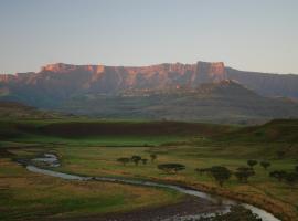 Hlalanathi Drakensberg Resort, resort village in Bergville