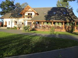 Pensjonat Bajdarka, hotel with jacuzzis in Suraż