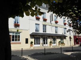 Logis Hotel Beaudon、ピエールフォンのホテル