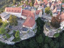 Burg Hohnstein, Hotel in der Nähe von: Barockschloss Rammenau, Hohnstein