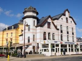 Hotel Des Brasseurs, hotel in De Haan