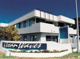 Ocean Waves Beachfront Motel, hotel in Mount Maunganui