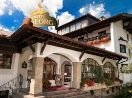 Johannesbad Hotel St. Georg, отель в городе Бад-Хофгастайн