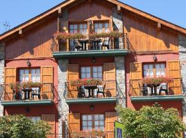 Hotel Esquirol, hotel in Llivia