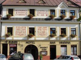 Hotel Panský dům, hotel in Nové Město na Moravě