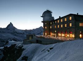 3100 Kulmhotel Gornergrat, hotel near Klein Matterhorn, Zermatt