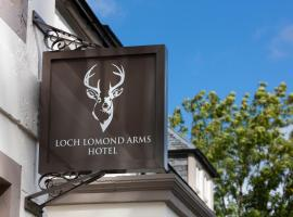 Luss Cottages at Loch Lomond Arms Hotel, villa in Luss
