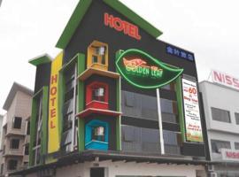 Golden Leaf Boutique Hotel, hotel in Johor Bahru