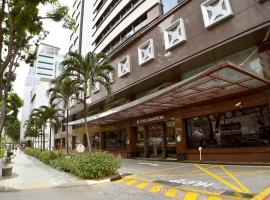 Hotel Grand Pacific (SG Clean), hotel near Dhoby Ghaut MRT Station, Singapore