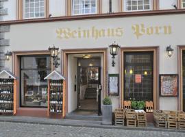 Rieslinghaus Bernkastel (ehm.Weinhaus Porn), хотел в Бернкастел-Кюс