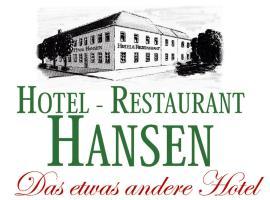 Hotel Hansen, hotel near Stadthalle Erkelenz, Heinsberg