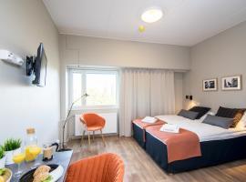 Forenom Aparthotel Espoo Leppävaara, hotelli Espoossa lähellä maamerkkiä Leppävaaran asema