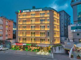 Hotel Boursier 1 & Spa, отель с джакузи в Стамбуле