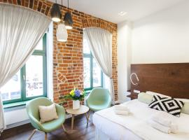 Apartamenty Sowa Toruń, serviced apartment in Toruń