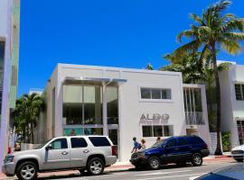 Aldo Apartments, hotel cerca de Museo Wolfsonian - Universidad Internacional de Florida, Miami Beach