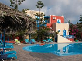 Villa Michalis, hotel v mestu Vlychada