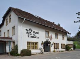 Hôtel du Chasseur, hôtel à Enges près de: Le Rumont T-bar