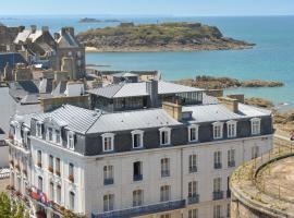 Hotel De France et Chateaubriand, hôtel à Saint-Malo