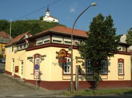 Alabárdos Panzió és Apartmanház, hotel in Esztergom