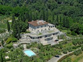 Villa la Borghetta Spa Resort, hotel in Figline Valdarno
