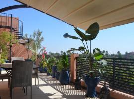 Les Terrasses De Majorelle, apartment in Marrakesh