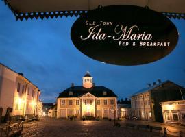 Old Town B&B Ida-Maria, B&B i Borgå