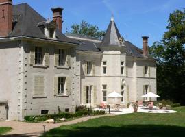 Chateau de la Rozelle, hôtel à Cellettes