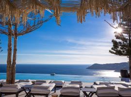 Myconian Utopia Relais & Chateaux, resort in Elia Beach