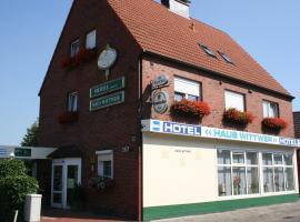 Hotel Haus Wittwer, Hotel in Emden