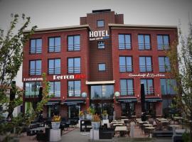 Hotel Rauw aan de Kade, hotel in IJmuiden
