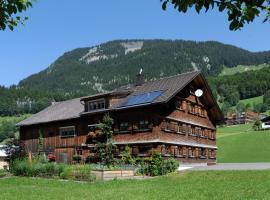 Ferienwohnungen Moosbrugger, hotel in Au im Bregenzerwald