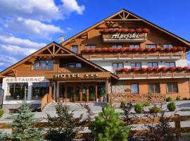 Hotel Alpejski, hotel in Polanica-Zdrój